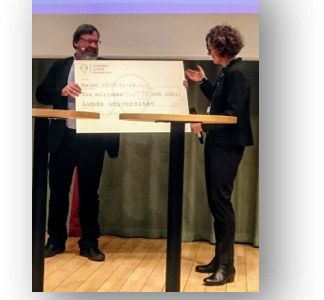 Sweden Water Research gratulerar Lunds universitet med stort bidrag