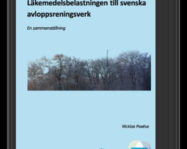 Läkemedelsbelastningen till svenska avloppsreningsverk