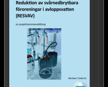 Reningsprocesser för läkemedelsrester i avloppsvatten