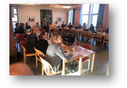 Rejektvattennätverket höll seminarium 4–5 december 2018 i Växjö