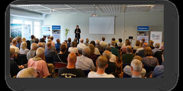 Sveriges modernaste reningsverk invigt i Simrishamn